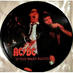 AC/DC – If You Want Blood... ...You've Got It - LP Vinyl Album - Picture Disc Edition
