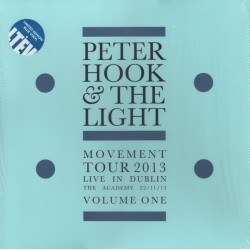 Peter Hook And The Light ‎– Movement Tour 2013 Live In Dublin The Academy - Volume One - LP Vinyl Album Coloured