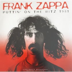 Frank Zappa ‎– Puttin' On The Ritz 1981 - LP Vinyl Album