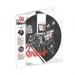 Renaud – Rouge Sang - Double LP Vinyl Album - Picture Disc Collector