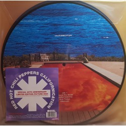 Red Hot Chili Peppers ‎– Californication - Picture Disc Collector 20th Anniversary - Double LP Vinyl Album