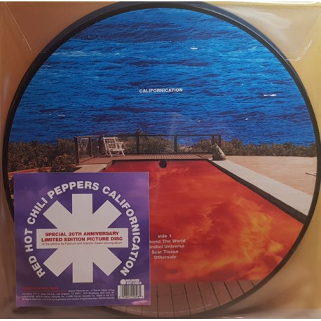 Red Hot Chili Peppers – Californication - Picture Disc Collector 20th Anniversary - Double LP Vinyl Album