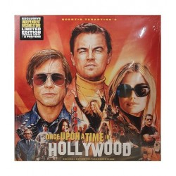 Tarantino - Once Upon A Time...In Hollywood - Double LP Vinyl Album Coloured Orange + Posters - Limited Edition