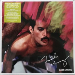 Freddie Mercury ‎(Queen) – Never Boring - LP Vinyl Album - Compilation