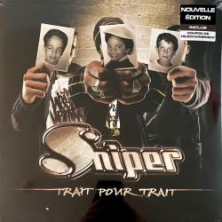 Sniper – Trait Pour Trait - Double LP Vinyl Album + Free Download - Rap Français