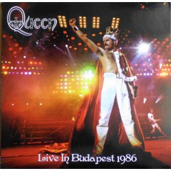Queen ‎– Live In Budapest 1986 - Double LP Vinyl Album - 'Magic Tour' at Népstadion
