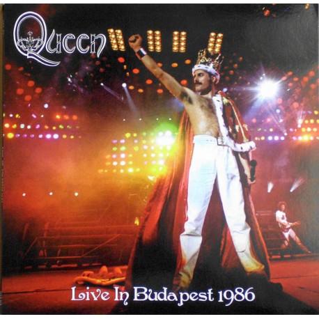 Queen – Live In Budapest 1986 - Double LP Vinyl Album - 'Magic Tour' at Népstadion
