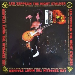 Led Zeppelin ‎– The Night Stalker - Double LP Vinyl Album - Gold Edition