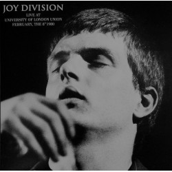 Joy Division ‎– Live At University Of London Union February, The 8th 1980 - LP Vinyl Album