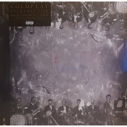 Coldplay ‎– Everyday Life - Double LP Vinyl Album - Rock Music