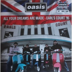 Oasis ‎– All Your Dreams Are Made - Earl's Court '95 - Double LP Vinyl Album - Coloured -  Brit Pop Music