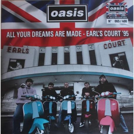 Oasis – All Your Dreams Are Made - Earl's Court '95 - Double LP Vinyl Album - Coloured -  Brit Pop Music