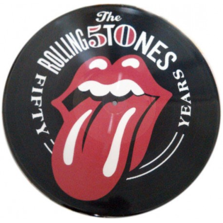 The Rolling Stones ‎– Fifty Years - LP Vinyl Album Anniversary - Picture Disc